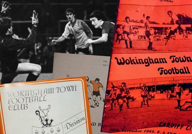 Wokingham Town's history in football programmes.