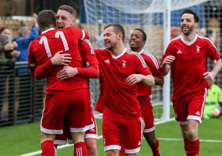 Bracknell Town are title favourites! Photo: Neil Graham.