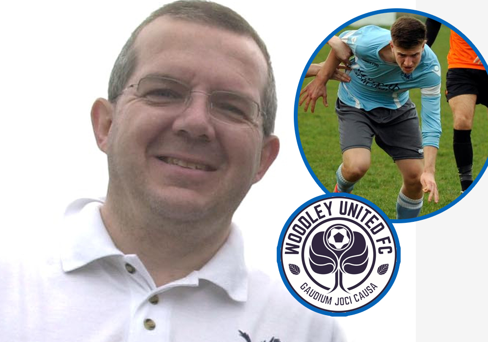 Mark Rozzier, General Manager of Woodley United. Photo: getreading.co.uk