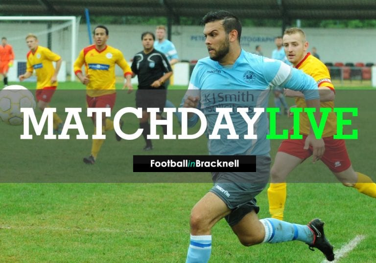 Matchday live - Woodley United vs Marlow United in the County Cup Final.