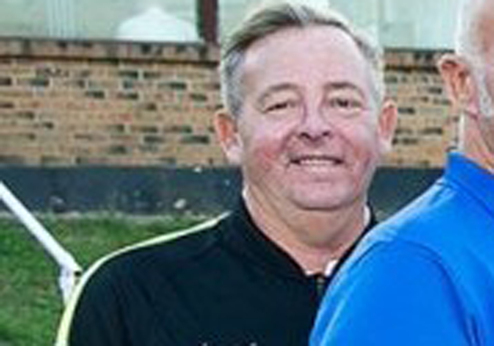 Binfield Football Club secretary Rob Challis. Photo: Binfield FC.