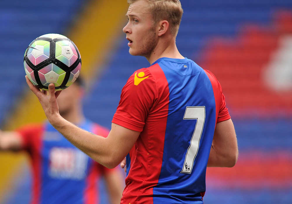 Sam Barratt's trial for Crystal Palace u23s against Bristol City. Photo: Michael Hulf/CPFC