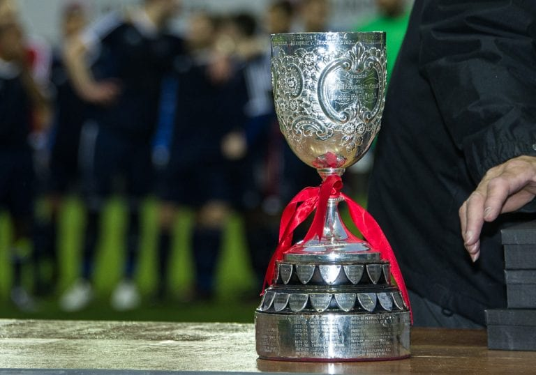 The Reading Invitation Challenge Cup. Photo: Colin Byers.