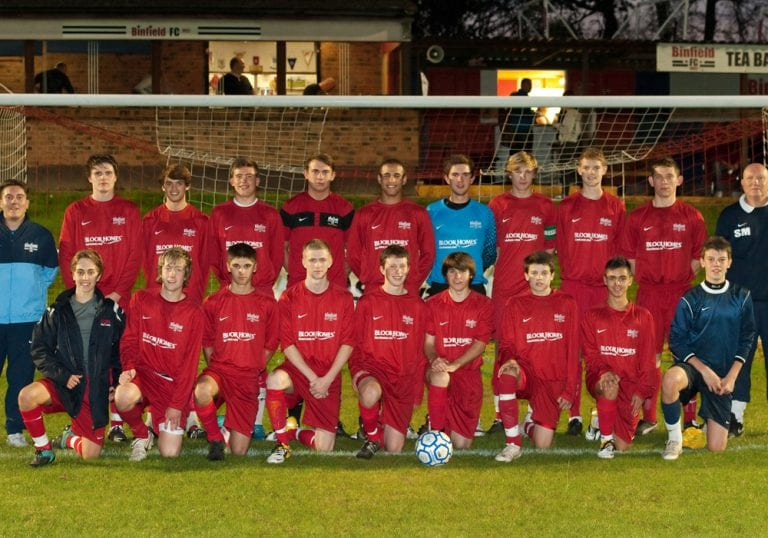 The Binfield FC Allied Counties Youth League side. Photo: Colin Byers.