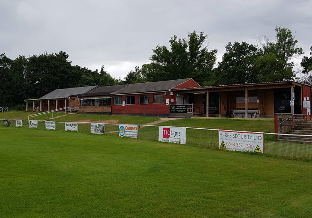 A view of the full extension at Binfield. Photo: Binfield FC.