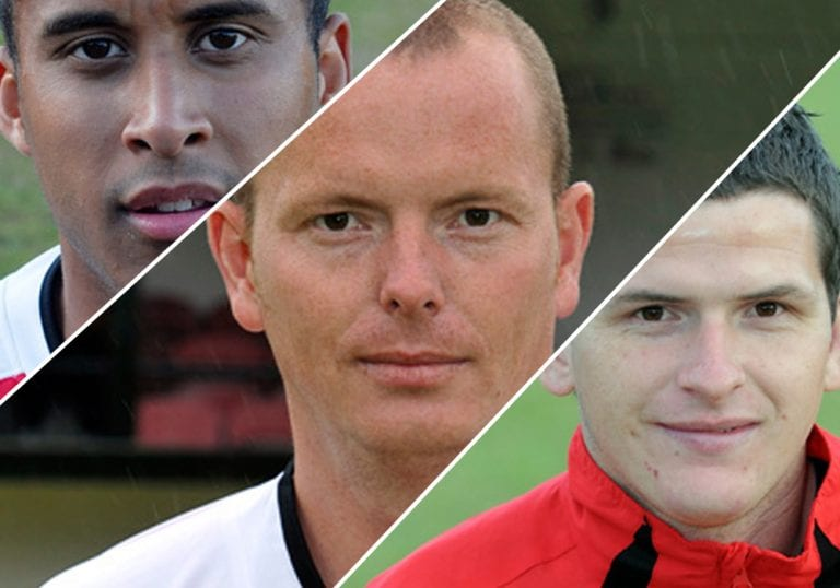 Can you identify these Bracknell Town footballers?