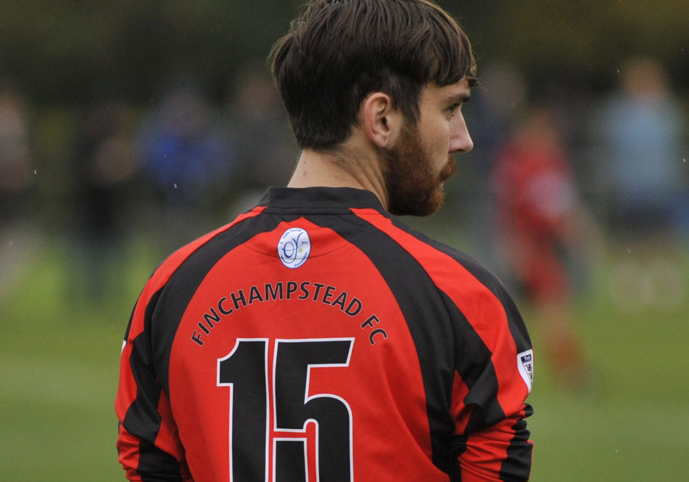 Finchampstead FC's Chace Jewell. Photo: Mark Pugh.