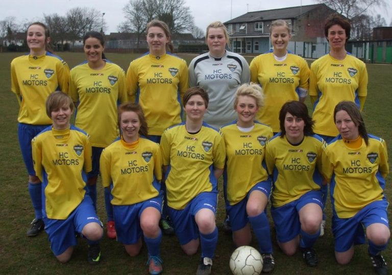 Woodley United Ladies. Photo: getreading.co.uk