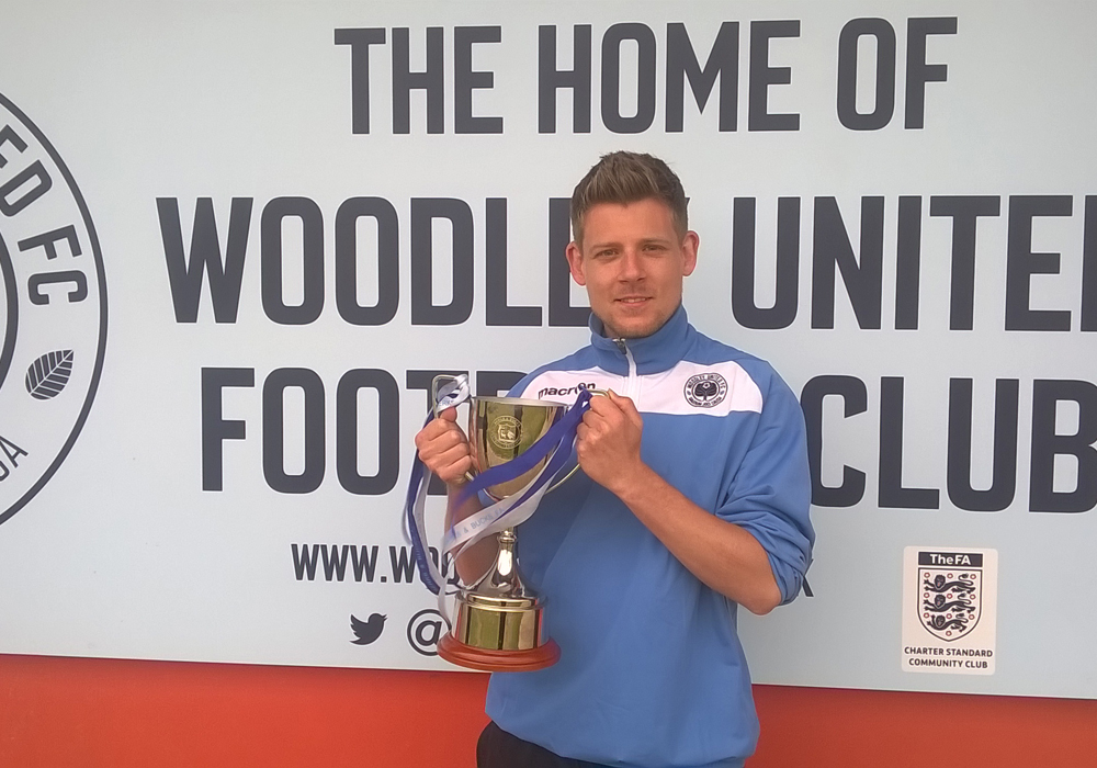 Woodley United trophy tour with White Wave Web.
