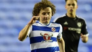 Aaron Kuhl playing for Reading under 21s. Photo: getreading.co.uk