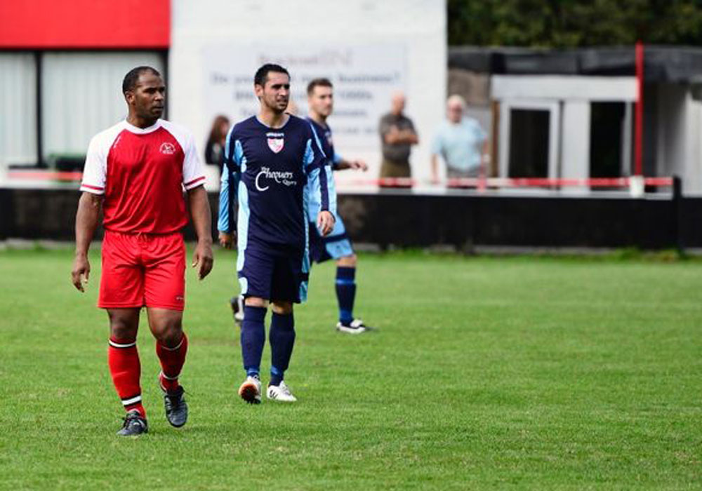 Keith Pennicott-Bowen out of retirement for Bracknell Town. Photo: Connor Sharod-Southam.