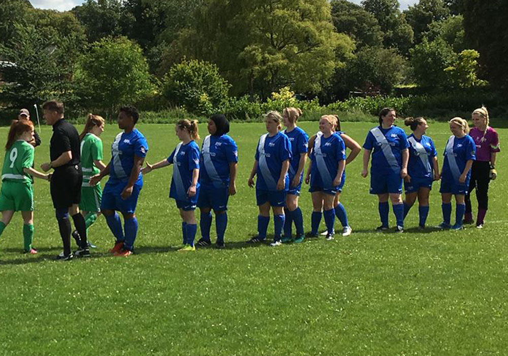 Binfield's new ladies and girls teams recruiting new players and holding open training sessions