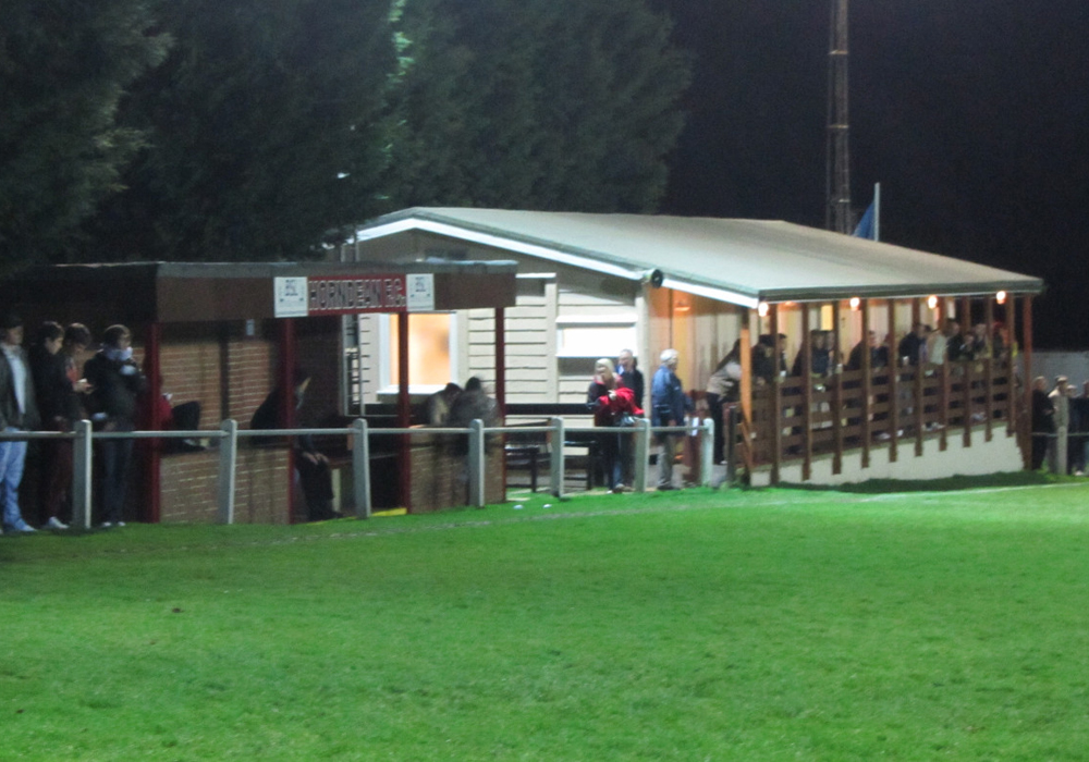 A view of Horndean FC. Photo: Laurence Reade.