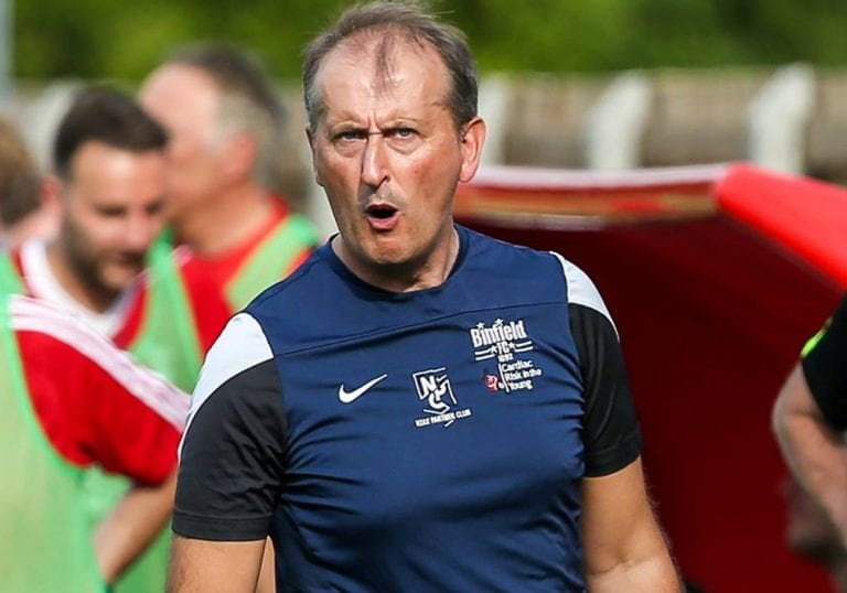 Binfield manager Roger Herridge. Photo: Neil Graham.