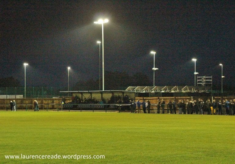 Royal Wootton Bassett Town's Gerrard Buxton Sports Ground: Photo: Laurence Reade.