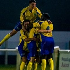 Ascot United are second in this country-wide table