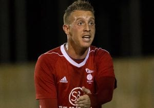 Bracknell Town striker TJ Bohane. Photo: Richard Claypole.