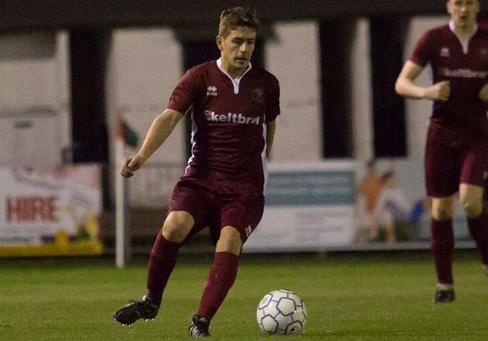 Josh Guichard. Photo supplied by Virginia Water FC.