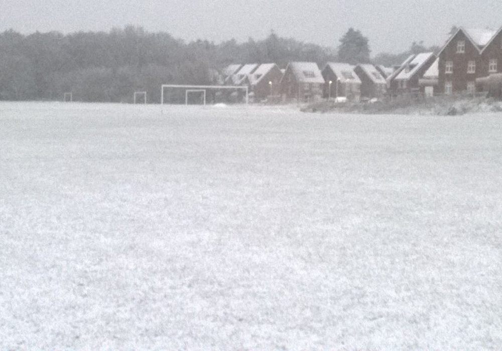 The scene at Bulmershe Pavilions. Photo: Woodley United.
