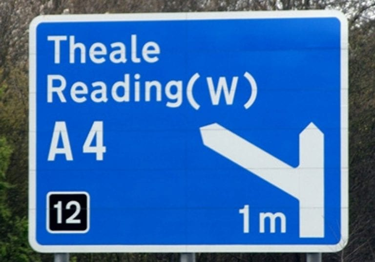 The M4 is closed this weekend.