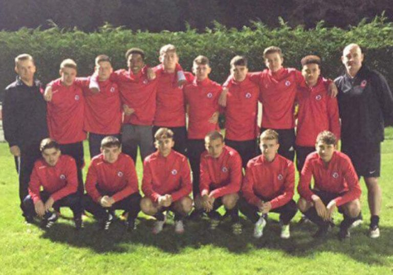 The 2017/18 Sandhurst Town Allied Counties Youth team.