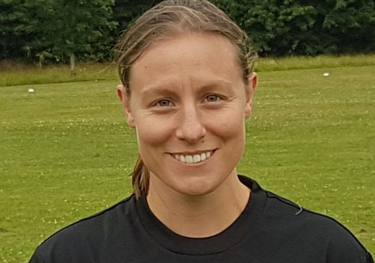 Ascot United Ladies Heather Williams. Photo: @ascotladiesfc
