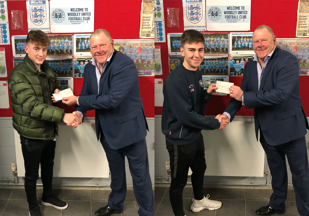 Young Woodley officials benefit from East Berks Football Alliance bursary