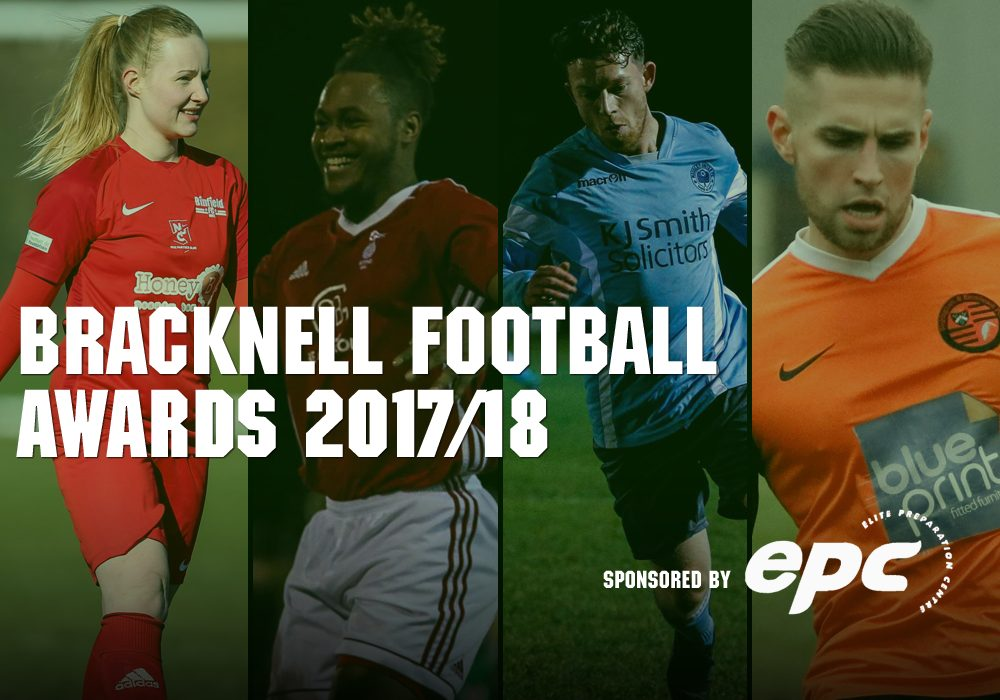 The Bracknell Football Awards are now open for entries. Photo: Neil Graham and Graham Tabor.