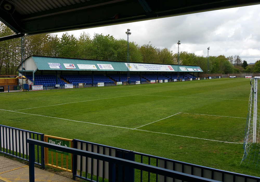 Longmead Stadium, Tonbridge Angels. Photo: Tony Hardy.