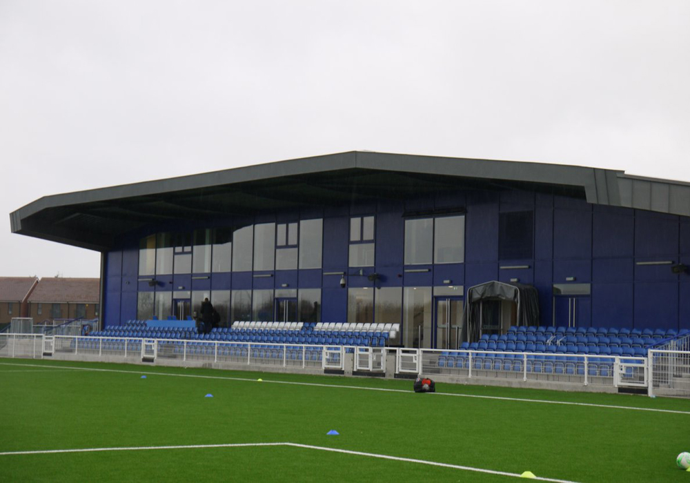 Aveley FC. Photo: Andy Campbell.