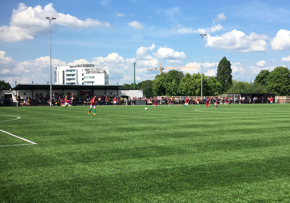 The Conifa World Cup at Bracknell Town.