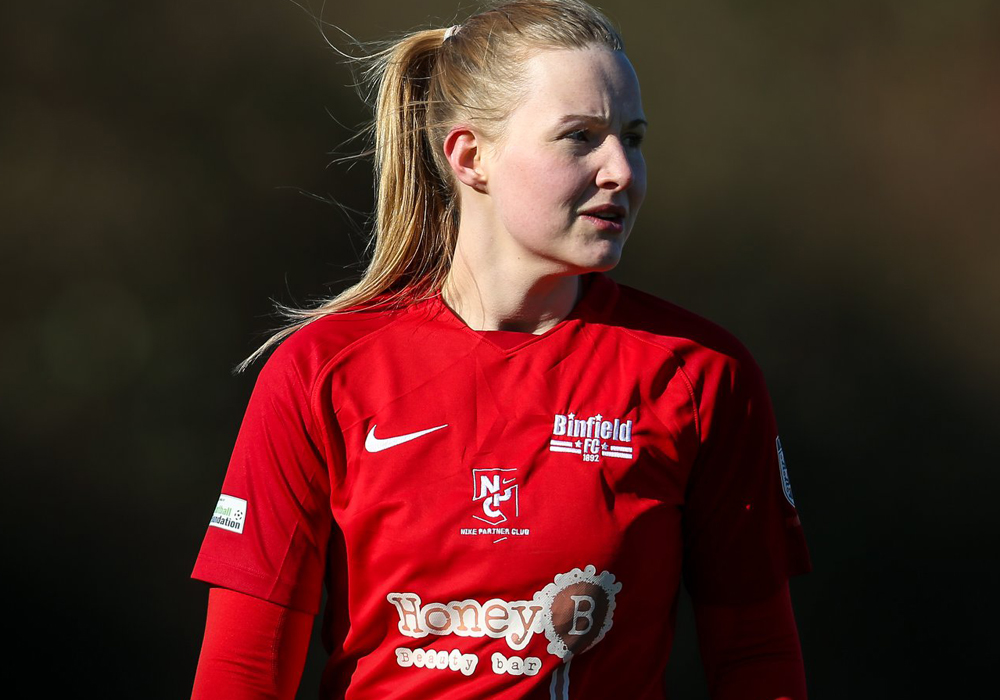 Leanne Harkins nominated for Bracknell Football Award