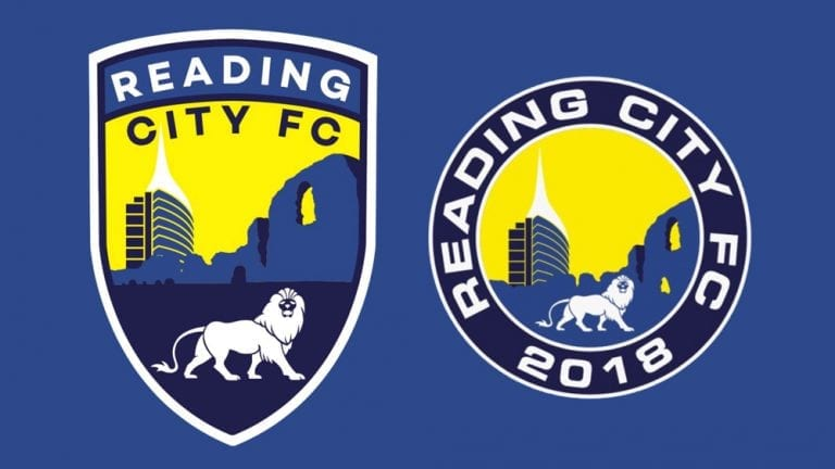 The new Reading City FC crest.