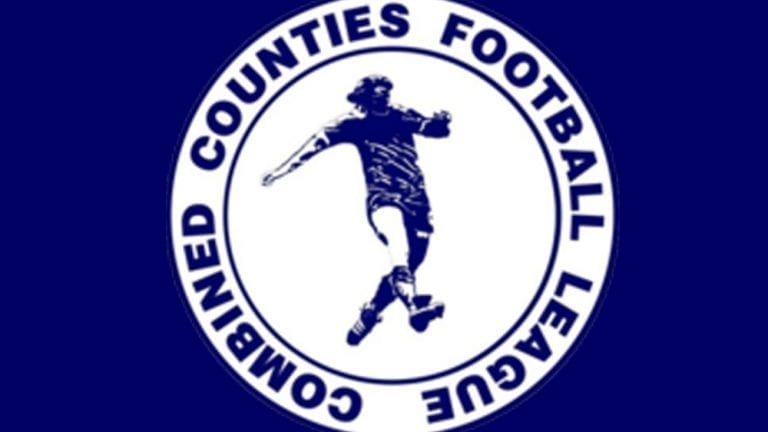 The Combined Counties Football League logo.