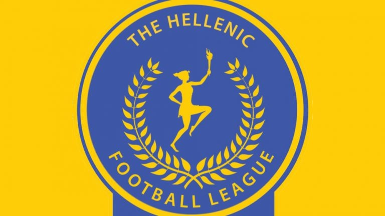The Uhlsport Hellenic League logo.