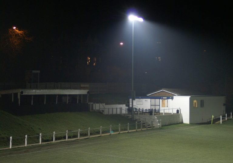 Brimscombe and Thrupp FC. Photo: Laurence Reade.