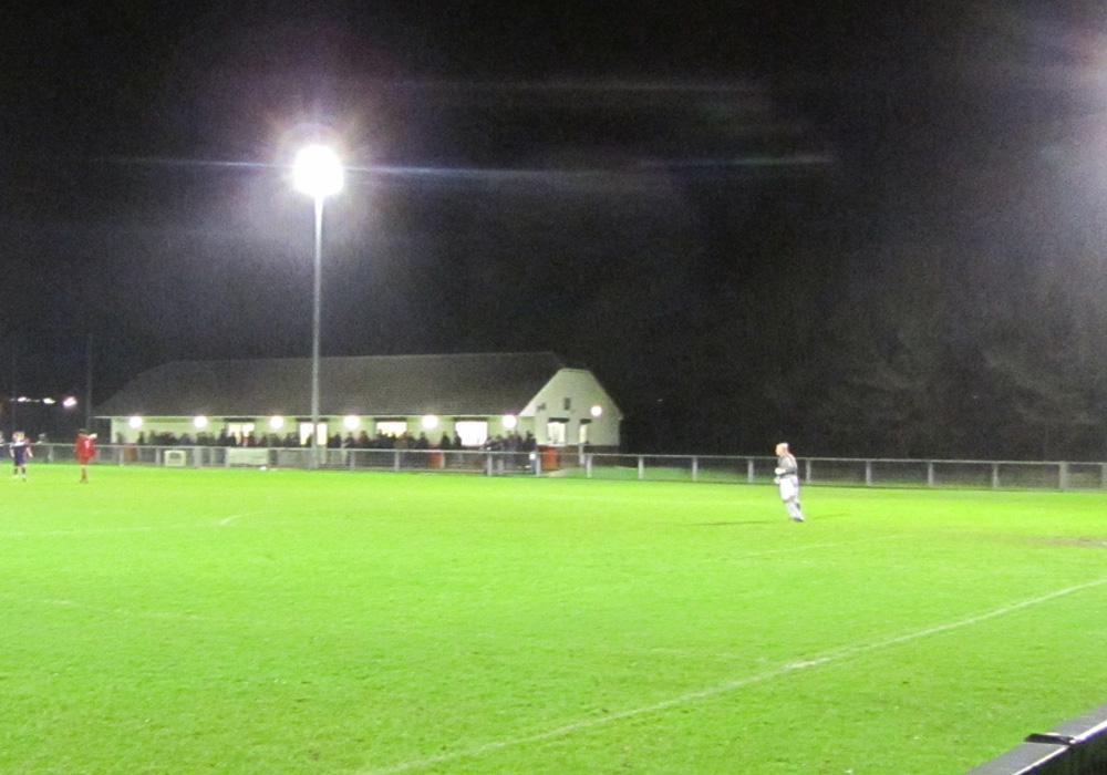 South Park FC's King George's Field ground. Photo: Laurence Reade.