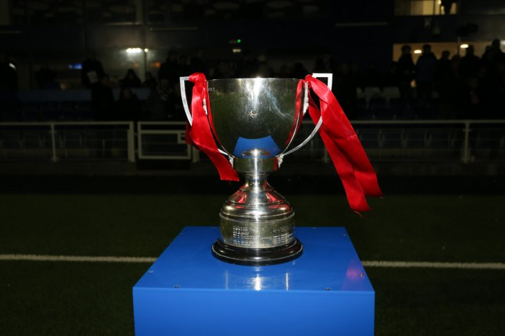 The Velocity Trophy. Photo: Bostik League.