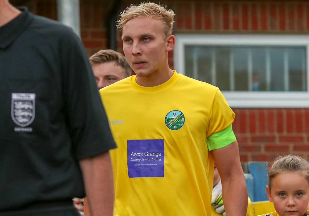 Ascot United captain Louis Bouwers. Photo: Neil Graham.