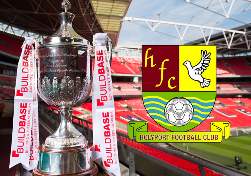 Let's get Holyport to Devon in the FA Vase.