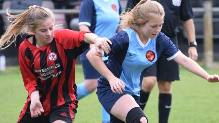 Sandhurst Town Ladies vs Wokingham & Emmbrook Ladies. Photo: W&E
