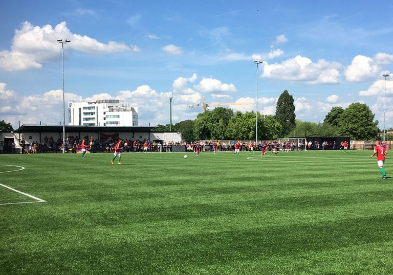 Bracknell Town's Larges Lane ground. Photo: Tom Canning.