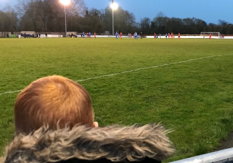 Watching on at Waterside Park. Photo: Matthew Smith.