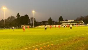 Hungerford Town at Chelmsford City. Photo: Matt Smith.
