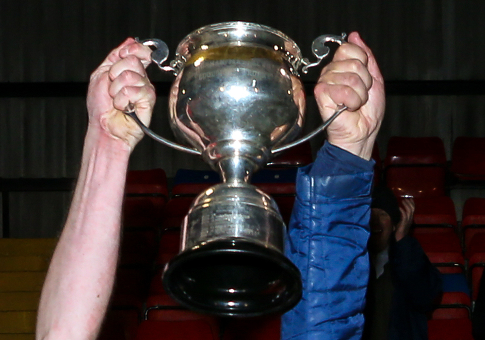 The Perpetua Press Hellenic League Floodlit Cup. Photo: Neil Graham.