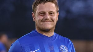 Shane Cooper-Clark playing for Thatcham Town