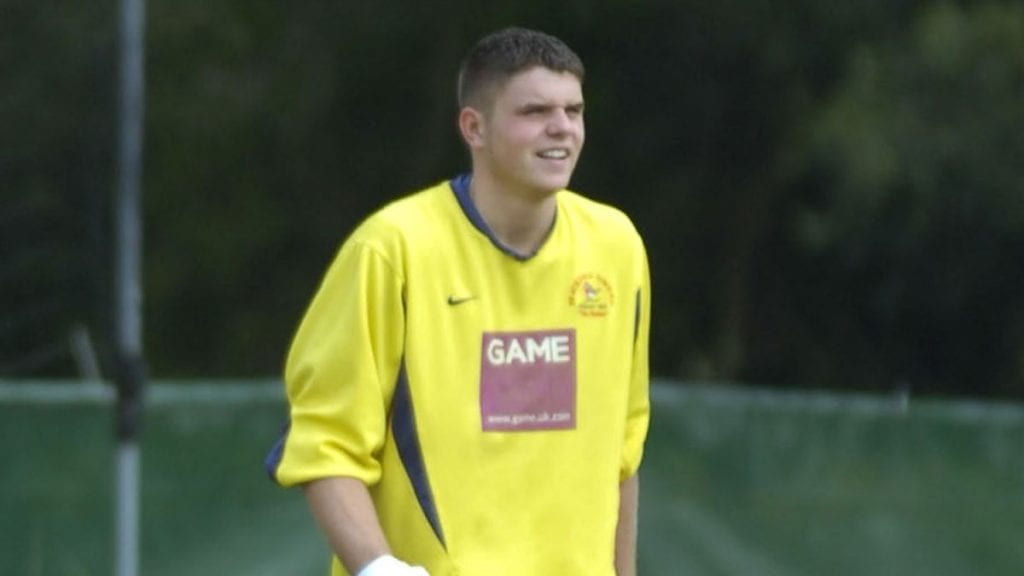 Chris Grace at Bracknell Town in 2007. Photo: BerkshireLive