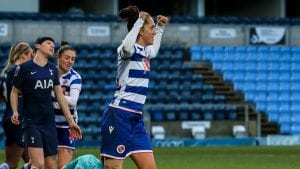 Reading FC Women's Jo Potter.