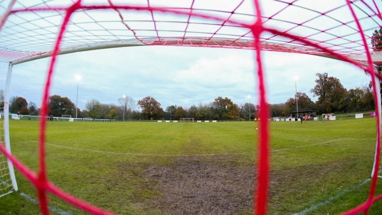 Hill Farm Lane, home of Binfield FC. Photo: Neil Graham / ngsportsphotography.com