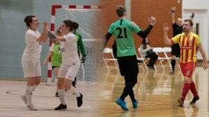 Reading Royals men's and women's teams will compete in the FA National Futsal Series next season. Photos: Sheena Booker.